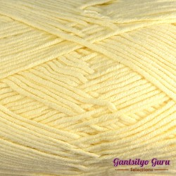 Gantsilyo Guru Milk Cotton Light Pastel Yellow