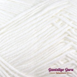 Gantsilyo Guru Milk Cotton Light Snow