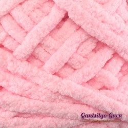 Gantsilyo Guru Super Bulky Chenille Cotton Candy Pink