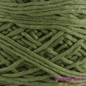 Gantsilyo Guru Balinese Cotton Blend Matte Green