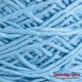 Gantsilyo Guru Balinese Cotton Blend Sky Blue