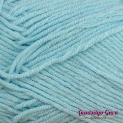 Gantsilyo Guru Milk Cotton Light Mini Aqua