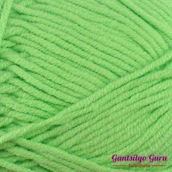 Gantsilyo Guru Milk Cotton Light Mini Atomic Green