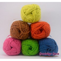 Gantsilyo Guru Milk Cotton Light Mini Color Palette Boho
