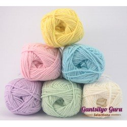 Gantsilyo Guru Milk Cotton Light Mini Color Palette Pastels