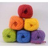 Gantsilyo Guru Milk Cotton Light Mini Color Palette Rainbow