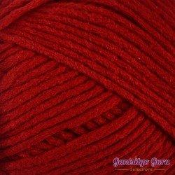 Gantsilyo Guru Milk Cotton Medium Hot Red