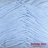 Gantsilyo Guru Milk Cotton Light Pastel Blue