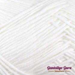 Gantsilyo Guru Milk Cotton Light Snow