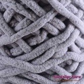 Gantsilyo Guru Super Bulky Chenille Light Grey
