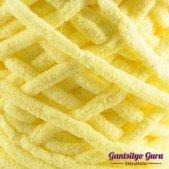 Gantsilyo Guru Super Bulky Chenille Pastel Yellow