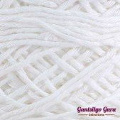 Gantsilyo Guru Balinese Cotton Blend White