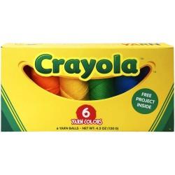 Lion Brand Crayola Yarn Box