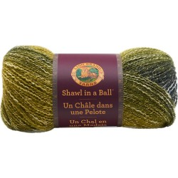 Lion Brand Shawl In A Ball Graceful Green