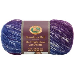 Lion Brand Shawl In A Ball Restful Rainbow
