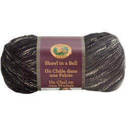 Lion Brand Shawl In A Ball Feng Shui Grey