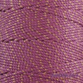 Nylon Thread 1.5MM French Rose Gold Metallic