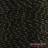Nylon Thread 1.5MM Black Gold Metallic