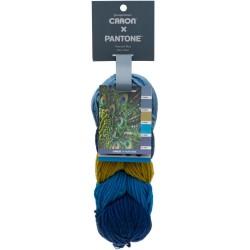 Caron x Pantone Peacock Blue
