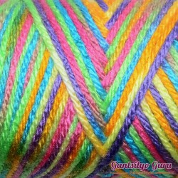 Caron Simply Soft Rainbow Bright