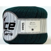Ice Linen Dark Green