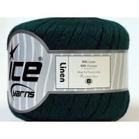 Ice Linen Dark Green