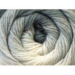 Ice Merino Gold Batik White Grey Shades