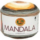 Lion Brand Mandala Brownie