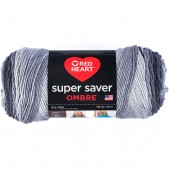 Red Heart Super Saver Ombre Anthracite