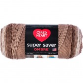 Red Heart Super Saver Ombre Cocoa