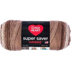 Red Heart Super Saver Ombre Cocoa