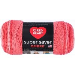 Red Heart Super Saver Ombre Sea Coral
