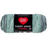 Red Heart Super Saver Ombre Fresh Mint