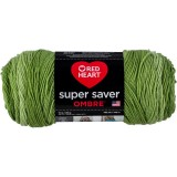 Red Heart Super Saver Ombre Green Apple