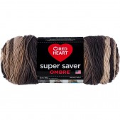 Red Heart Super Saver Ombre Hickory