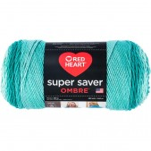 Red Heart Super Saver Ombre Spearmint