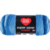 Red Heart Super Saver Ombre True Blue