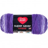 Red Heart Super Saver Ombre Violet