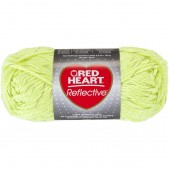 Red Heart Reflective Neon Yellow