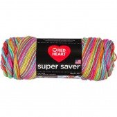 Red Heart Super Saver Pooling Papaya