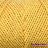 Red Heart With Love Cornsilk