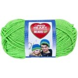 Red Heart Heads Up Bright Green