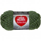 Red Heart Reflective Olive